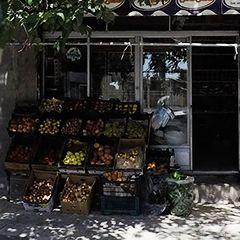 سوپر مارکت و میوه فروشی