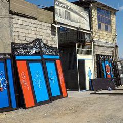 سازنده و فروشنده انواع درب و پنجره آهنی، آلومینیومی و چوبی آسیابی