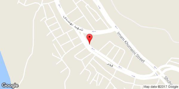 موقعیت آرایشگاه پیام روی نقشه