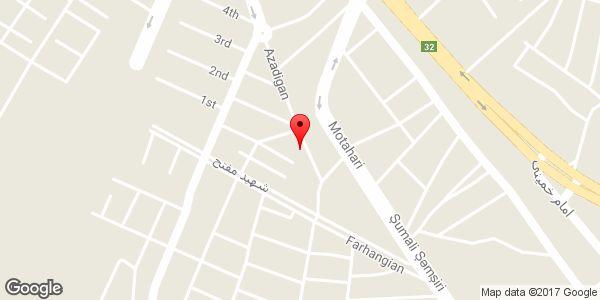 موقعیت فروشگاه شهر آفتاب روی نقشه