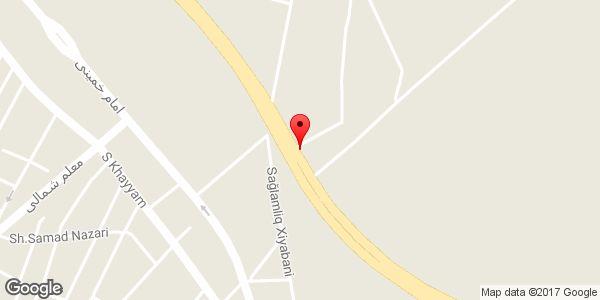 موقعیت کافه ترانزیت روی نقشه