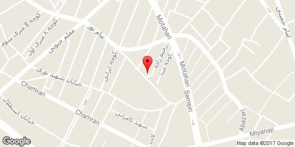 موقعیت مسجد امام زمان (عج) روی نقشه