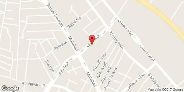 موقعیت دستگاه خودپرداز بانک ملی روی نقشه