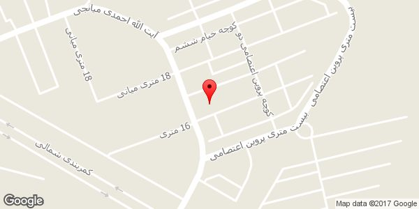 موقعیت آرایشگاه زنانه روی نقشه