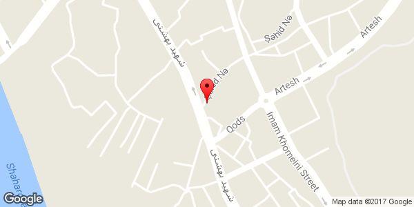 موقعیت سوپر مارکت محمدی روی نقشه