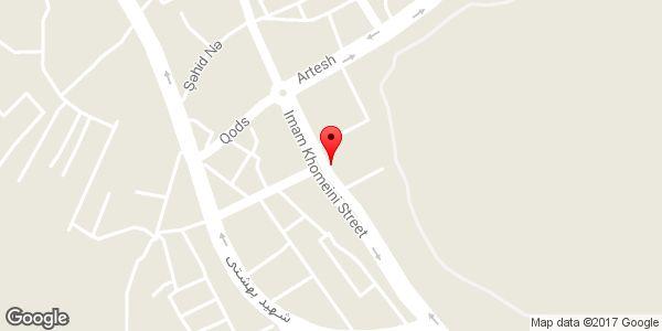 موقعیت نمایشگاه اتومبیل سعید روی نقشه
