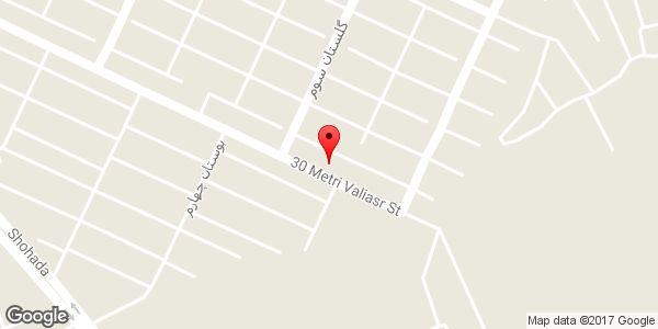 موقعیت مشاور املاک گلستان روی نقشه