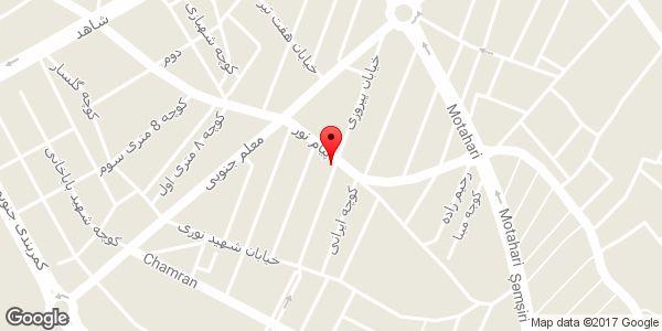 موقعیت بیمه ایران نمایندگی شیرازی روی نقشه