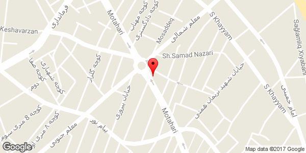 موقعیت شهر جوراب روی نقشه
