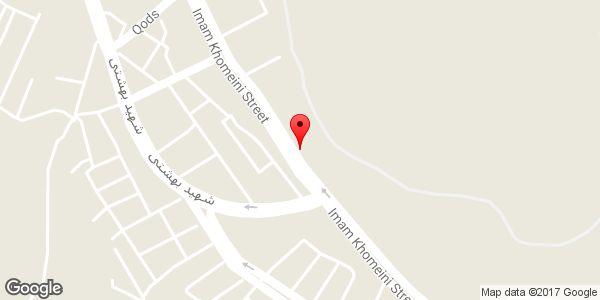 موقعیت لوازم یدکی حاج محمد روی نقشه