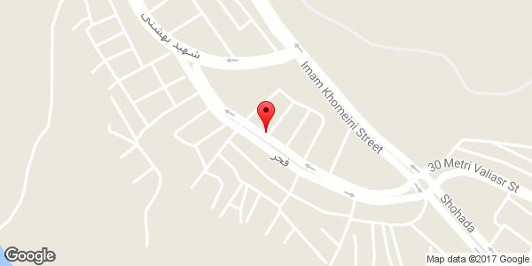 موقعیت اتو گالری فجر روی نقشه