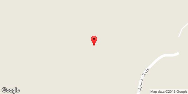 موقعیت روستای تجرق روی نقشه
