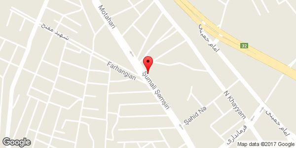 موقعیت مرکز خرید هفت آسمان ۲ روی نقشه