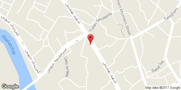 موقعیت نمایشگاه اتومبیل داود روی نقشه