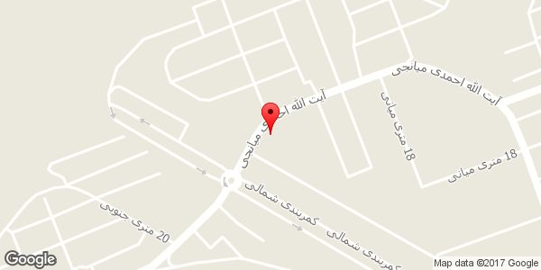 موقعیت فروشگاه نیاکان روی نقشه