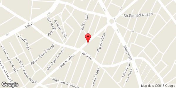 موقعیت خیاطی عبداللهی روی نقشه