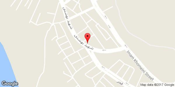 موقعیت مسجد حضرت امام زین العابدین (ع) روی نقشه