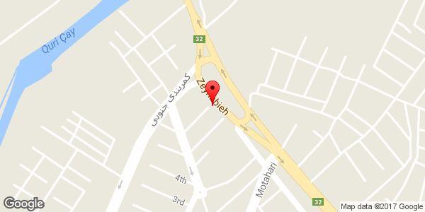 موقعیت کباب سرای سنتی مخصوص بناب (آقایی) روی نقشه