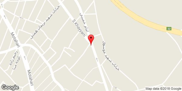 موقعیت آرایشگاه مردانه روی نقشه