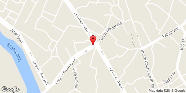 موقعیت مسجد حاج علی اکبر روی نقشه