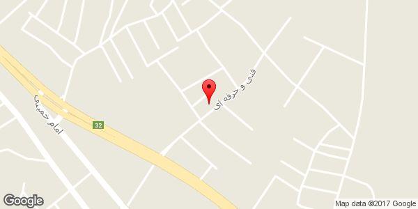 موقعیت کابینت MDF ارج (طالبی پور) روی نقشه