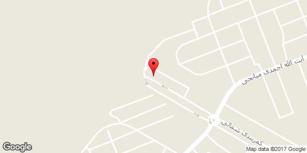 موقعیت فروشگاه آنا روی نقشه
