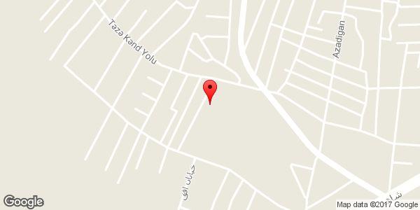 موقعیت مسجد قمر بنی هاشم(ع) روی نقشه