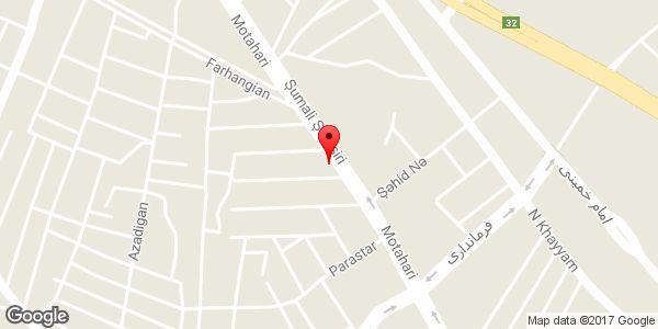 موقعیت سوپر مارکت روی نقشه
