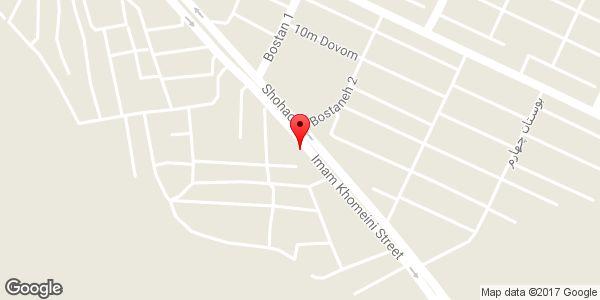 موقعیت کارواش لوکس روی نقشه