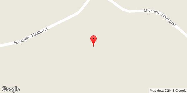 موقعیت دره آقورن درسی روی نقشه