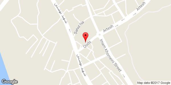 موقعیت لوازم یدکی روی نقشه