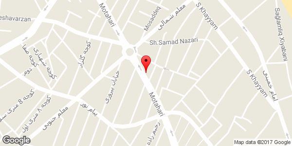 موقعیت کت و شلوار جامکو روی نقشه