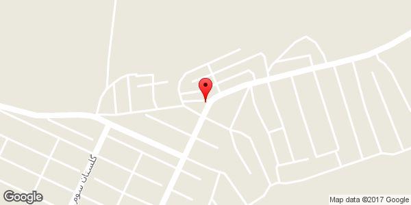 موقعیت تک مارکت روی نقشه