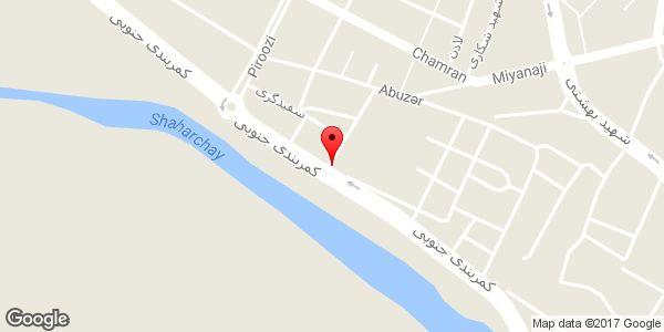 موقعیت تاکسی تلفنی میلاد روی نقشه