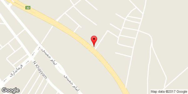 موقعیت نمایشگاه اتومبیل ایران ۲۵ روی نقشه