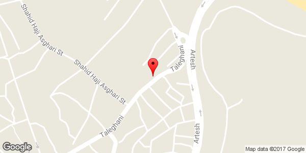 موقعیت کاشی یاس سرام روی نقشه
