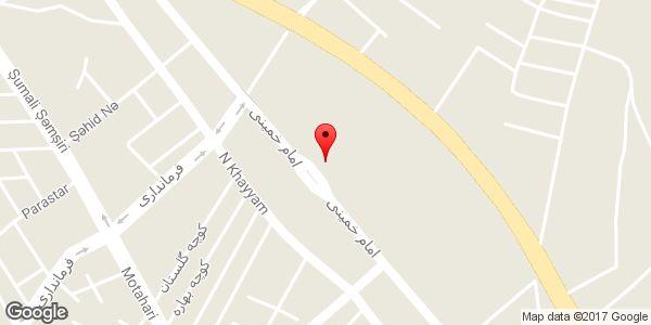 موقعیت اداره ورزش و جوانان شهرستان میانه روی نقشه
