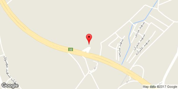 موقعیت بورس لاستیک کبیری روی نقشه