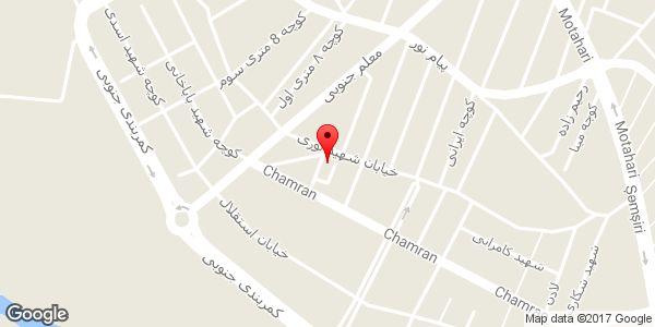 موقعیت مسجد امیر المومنین (ع) روی نقشه