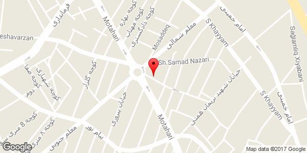 موقعیت نمایندگی مجاز وایمکس مبین نت در شهرستان میانه روی نقشه