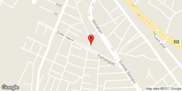 موقعیت انیستیتو زیبایی مدونا روی نقشه