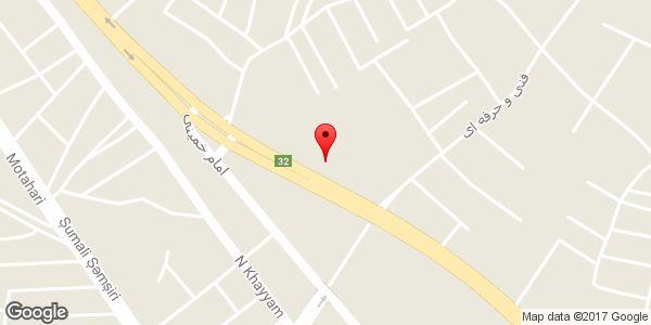 موقعیت هتل سولماز روی نقشه