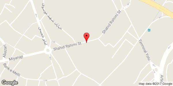 موقعیت لوازم خانگی گلچین روی نقشه