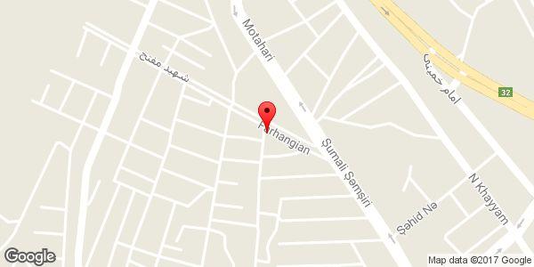 موقعیت خدمات لوله کشی رحیمی روی نقشه