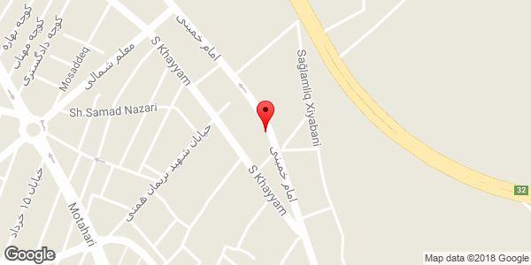 موقعیت آرایشگاه گلشن روی نقشه