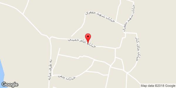موقعیت مسجد علی اکبر روی نقشه