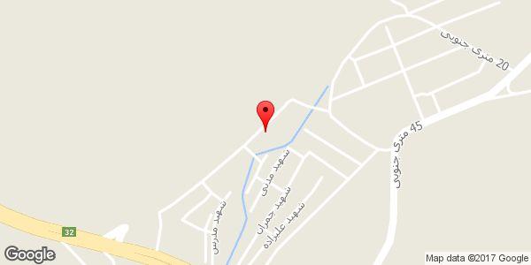 موقعیت مسجد امام حسین (ع) روی نقشه