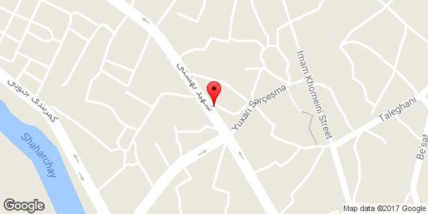 موقعیت فروشگاه موتور سیکلت جلیل پور روی نقشه