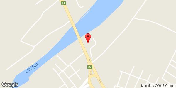 موقعیت گوهر فولاد ترک (ترک تابان) روی نقشه