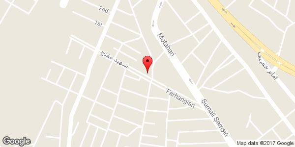 موقعیت مشاور املاک علی پاک نژاد روی نقشه